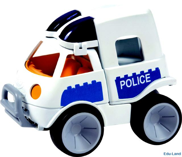 Polizeiauto baby-sized